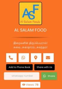 Al Salam Food