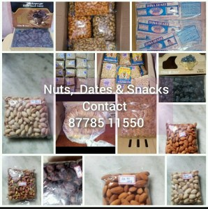 Nuts, Dates and Snacks