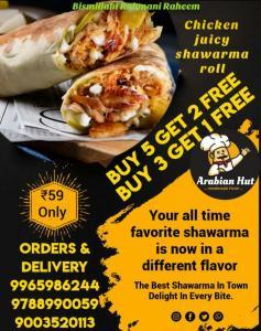 Arabian Hut offers