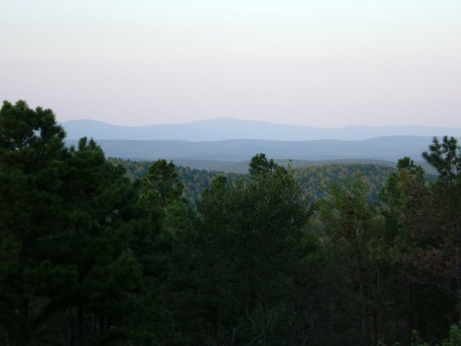 It's no Rocky Mountains. But the Ouchita National Forest is pretty cool just the same.