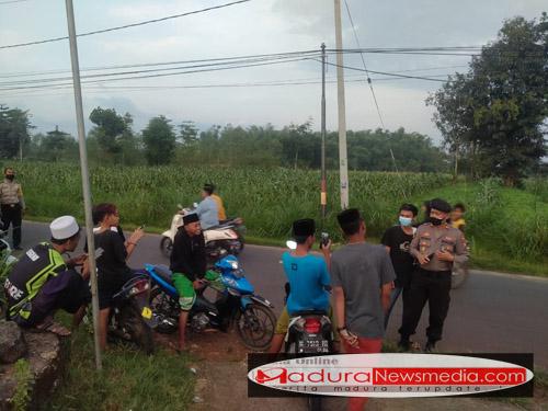 Antisipasi Balap Liar, Polsek Kwanyar Lakukan Patroli Ngabuburit Di Tiga Titik