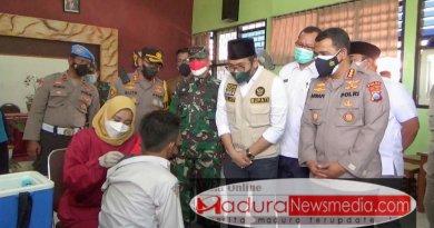 Vaksinasi Kepada Kalangan Pelajar Di kabupaten Bangkalan Terus Dikebut
