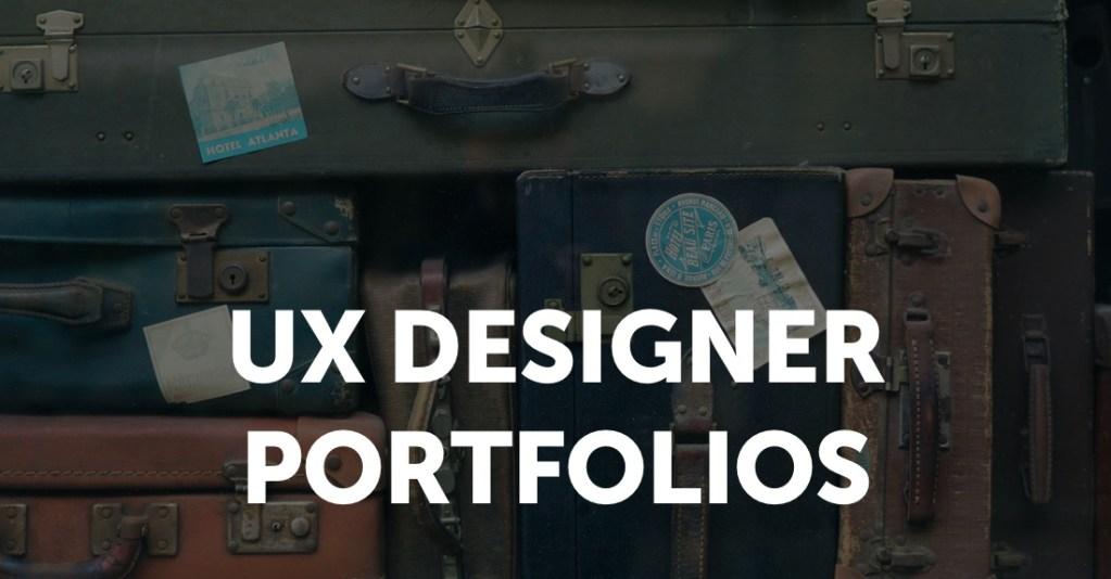 UX Designer Portfolios
