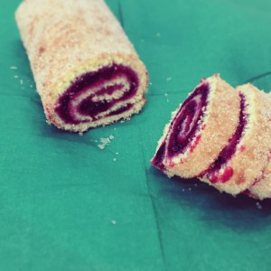 Roulade med alliancemarmelade