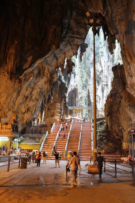 Inside the Batu cave, Kuala Lumpur, Malaysia.