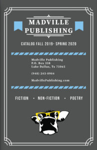 Madville Publishing's 2019-2020 Catalog cover