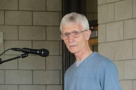 Poet George Drew at MVSU