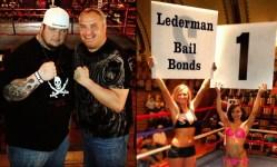 Dan Lederman does like putting up his dukes....