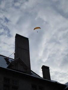 A paraglider!