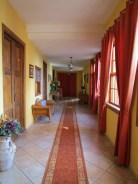 The cozy front hallway.