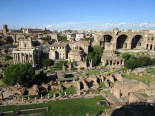 Roman Forum from above.