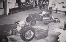 Main Building Tractor Display - Massey Ferguson