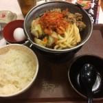 毎年恒例のすき家「牛すき鍋定食」が今年も復活。キムチ牛すき鍋定食を食べてきた。