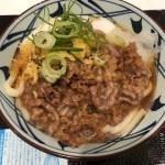 【錦糸町】釜揚げ 讃岐うどん丸亀製麺 オリナスモール店、牛とろ玉うどんを食べてきた
