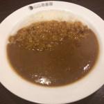 カレーハウス CoCo壱番屋 江東区東陽町駅西口店 (ココイチバンヤ)で、ポークカレーとポテトサラダを食べてきた
