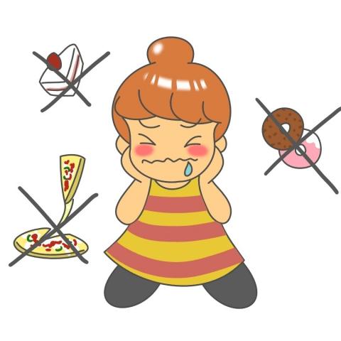 ダイエットと食後のデザートの関係