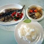 フィリピン妻のお昼ご飯