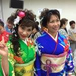やっぱり顔が派手ぇ~!フィリピンママが参加した富士市国際交流フェア外国人着物ファッションショー