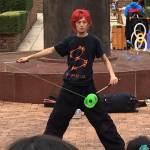 大道芸人Hirokiさんのディアボロ技を生で見てきたよ!
