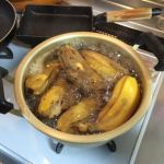 おいしいよ!今日の朝食はフィリピン茹でバナナ