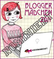 Bloggermaedchen 2011 nominiert