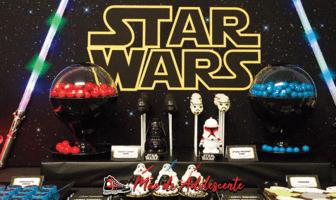 Festa de 15 anos com tema Star Wars