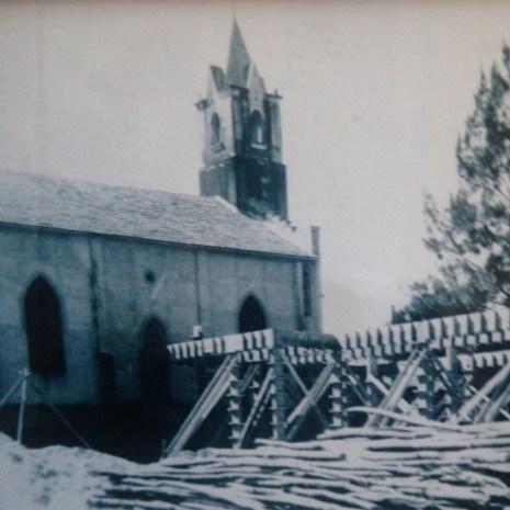 Construção da Capela do Colégio