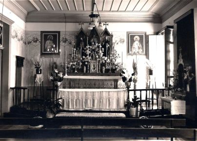 Capela antiga da casa das irmãs