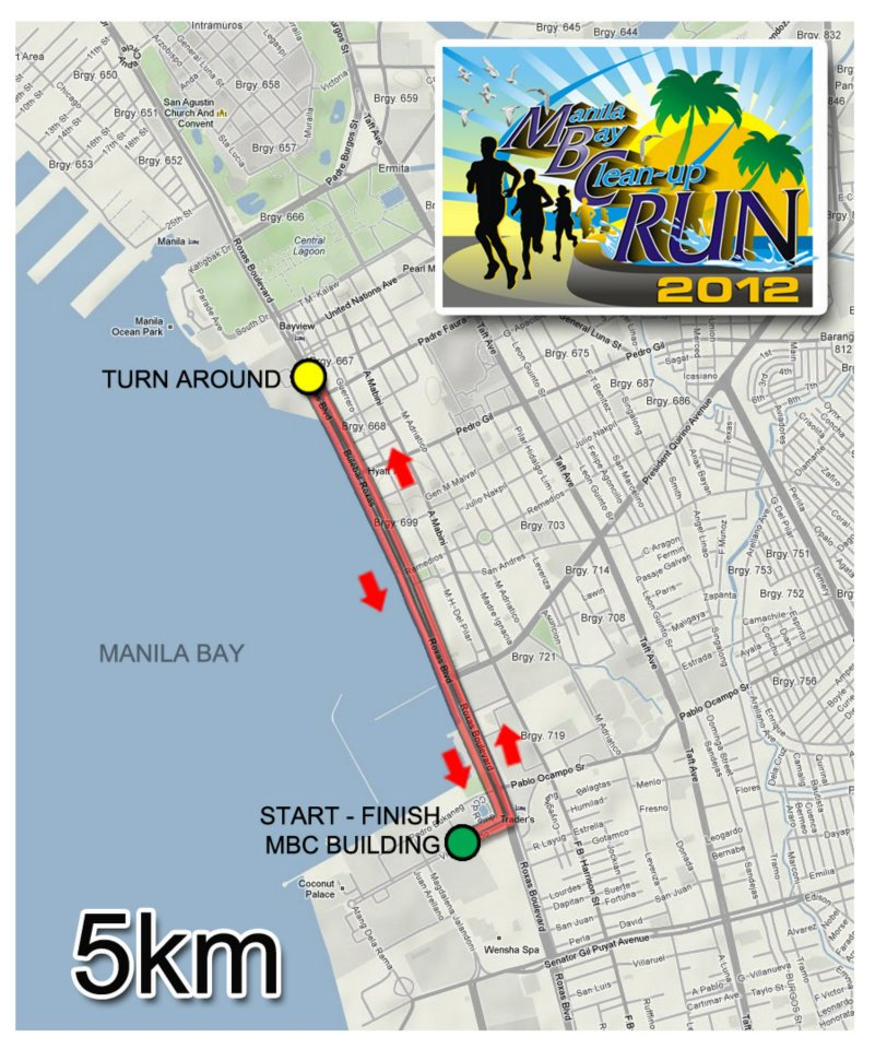 Let's Go and Run for Manila Bay CleanUp Run 2012! (3/5)