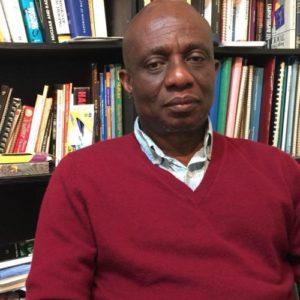 Professor Jean Bele, the founder of the Okapi brand.