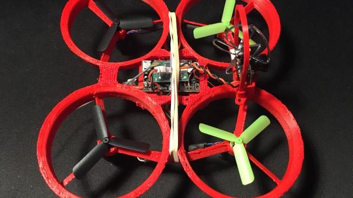 Construction du Drone imprimé en 3D – Whoopee