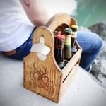 Das Perfekte Mannergeschenk Bierkorb Aus Holz