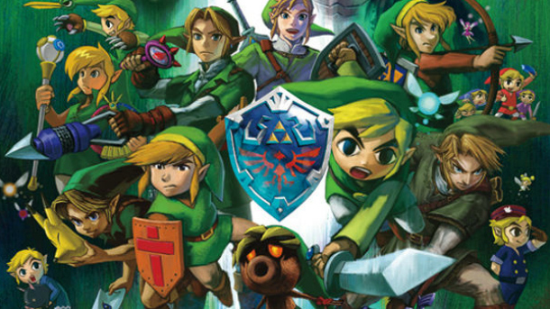 Legend of Zelda Link Throughout the years