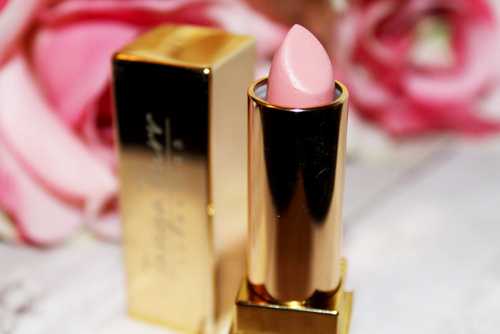 Tanya Burr Lipstick Review - Birthday Cake & Happily Ever After 7