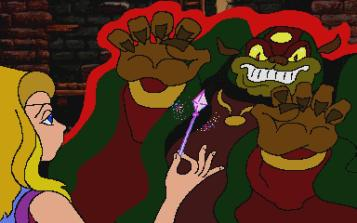 Link: The Faces of Evil & Zelda: The Wand of Gamelon Review 3