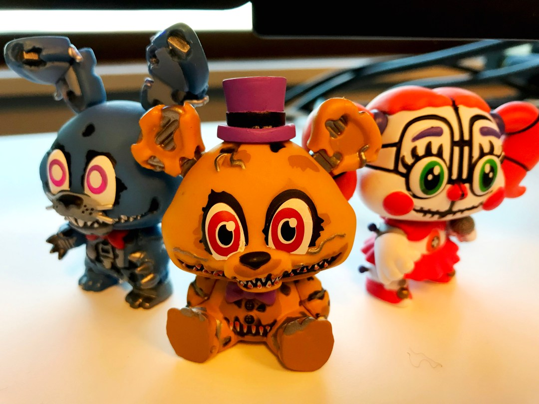 Five Nights at Freddy's Sister Location Figurines