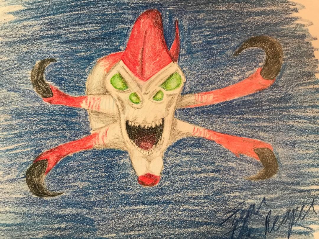 Reaper Leviathan Drawing