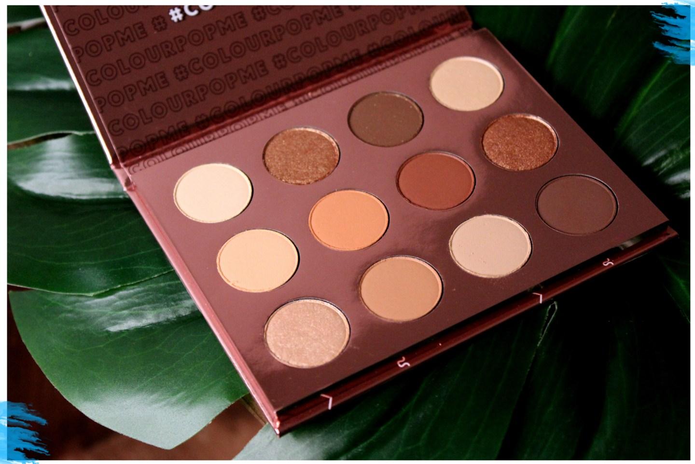 Colourpop Double Entendre Eyeshadow Palette Review Mae