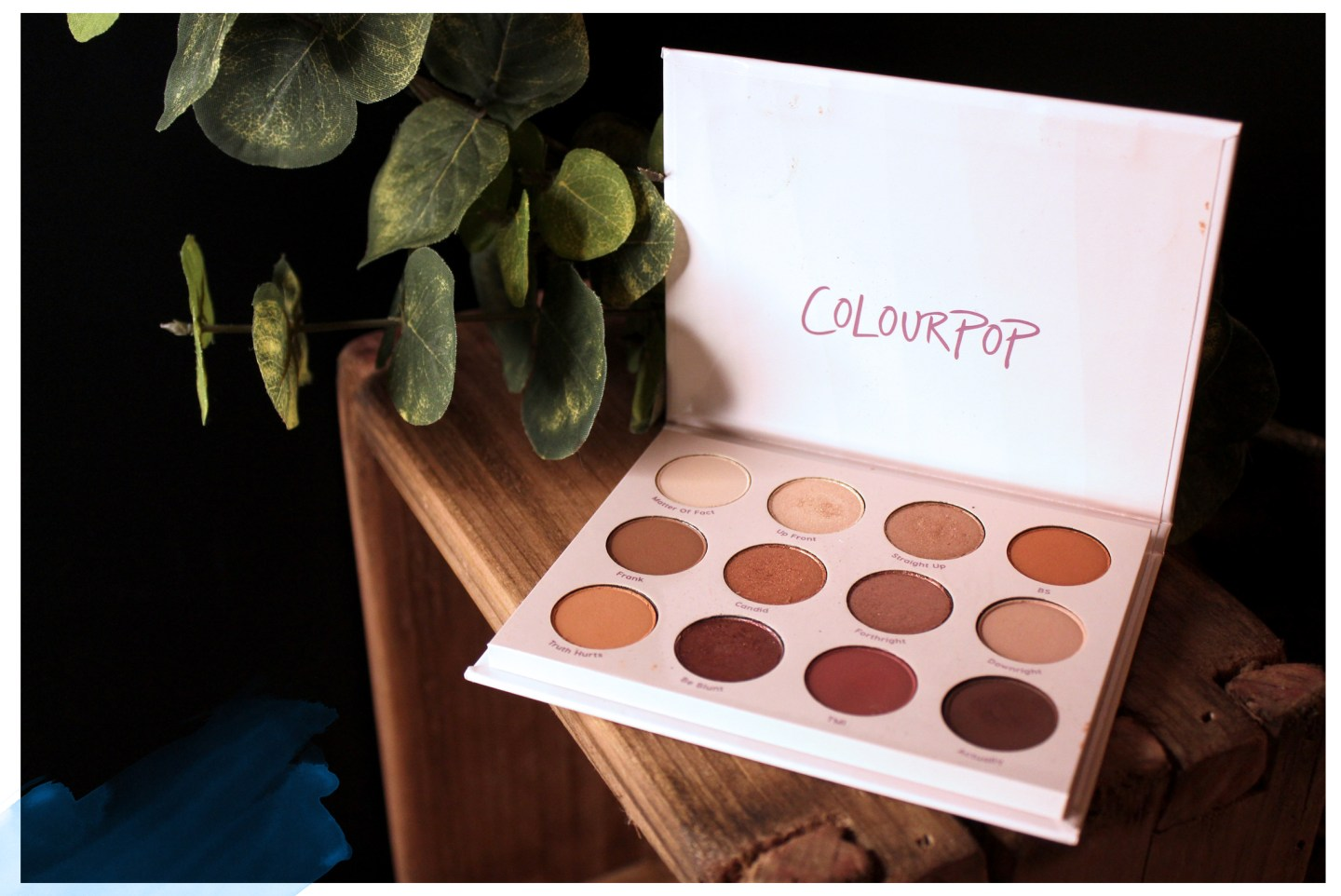 Give It To Me Straight ColourPop Palette