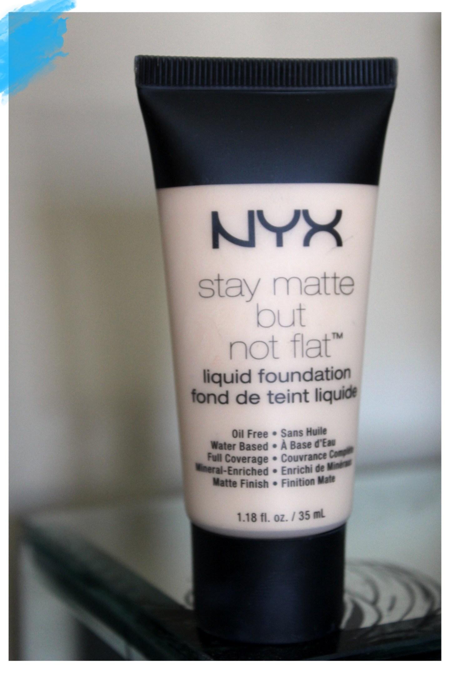 NYX Stay matte not Flat foundation