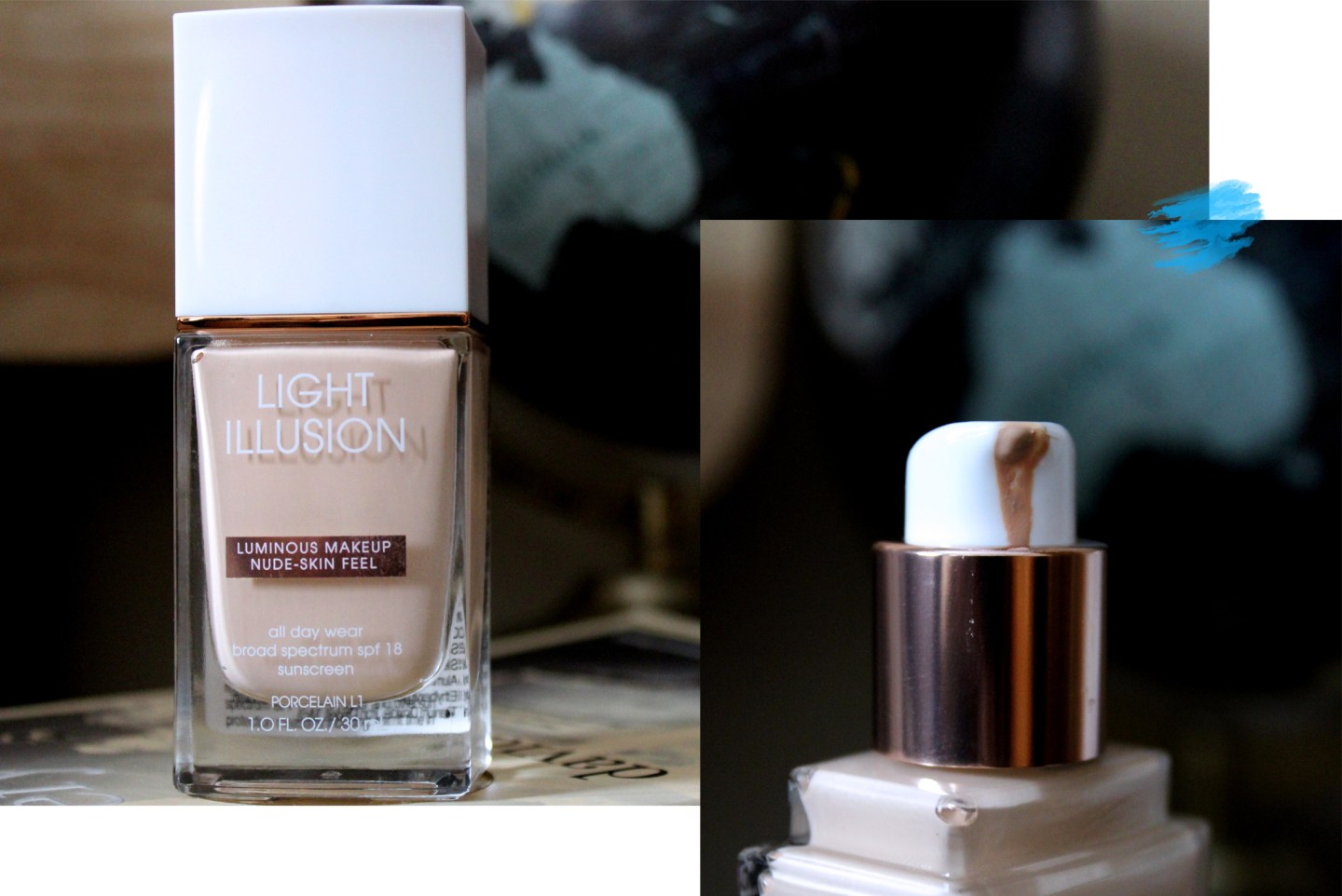 Flower beauty light illusion liquid foundation l1 porcelain review flower beauty foundation izmirmasajfo