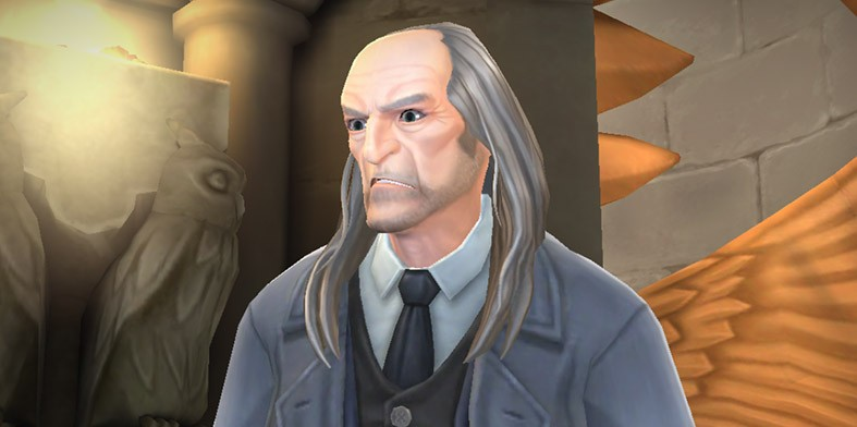 Caretaker Argus Filch
