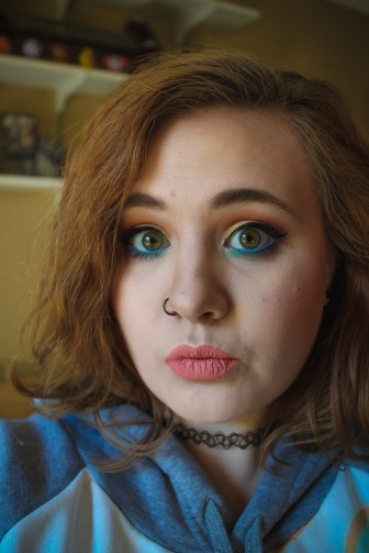 Storybook Cosmetics Charlie and Chocolate Palette Look 2