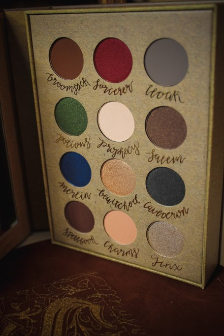 Storybook Cosmetics Wizardry and Witchcraft Palette 3