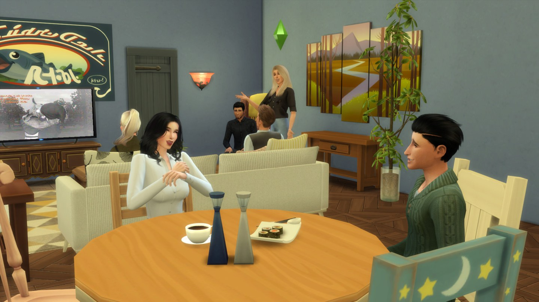 Friends Apartment Sims 10