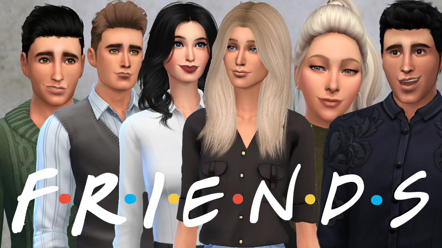 The Sims 4: Friends Cast 1