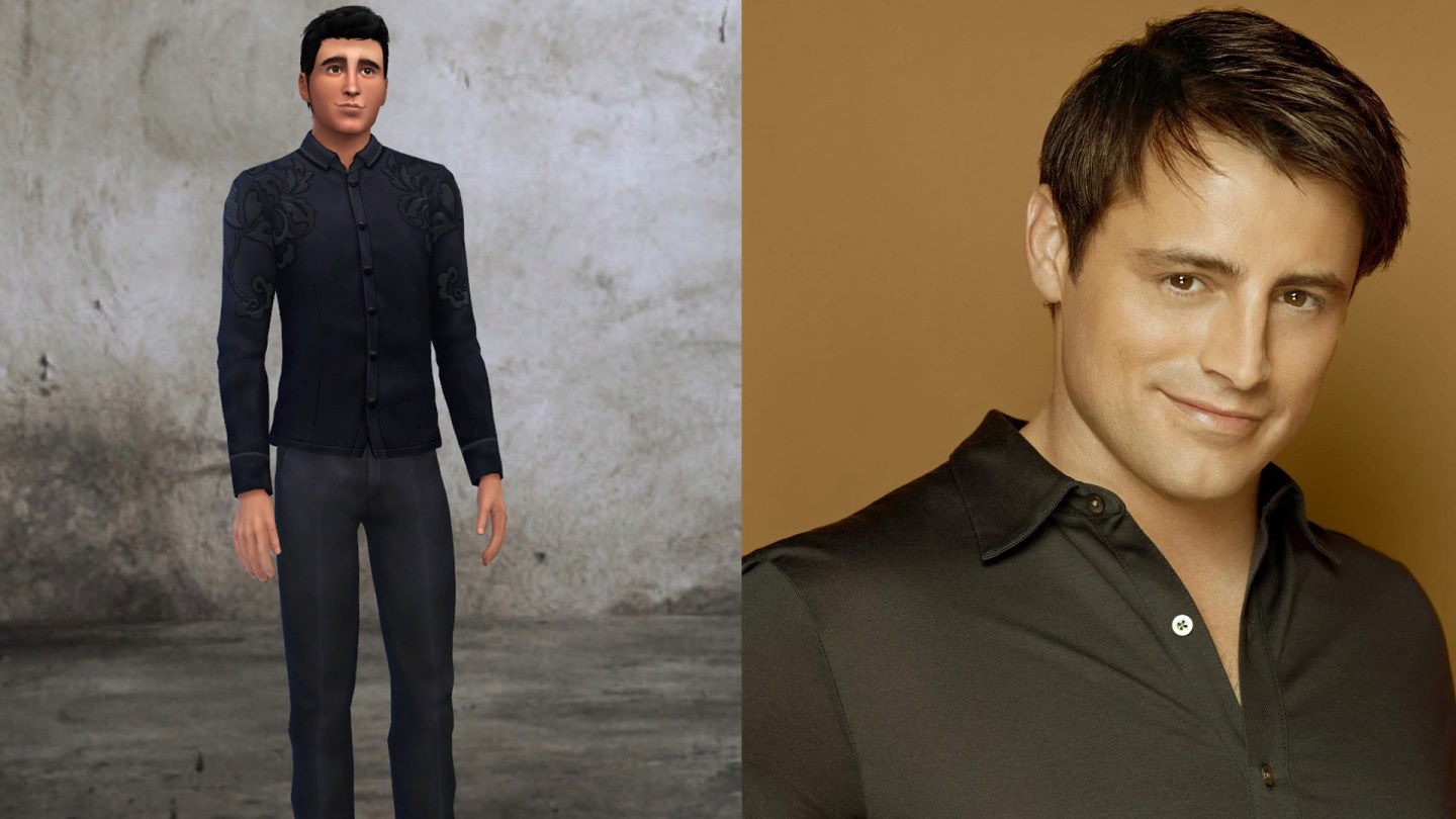 friends joey tribbiani sims 4