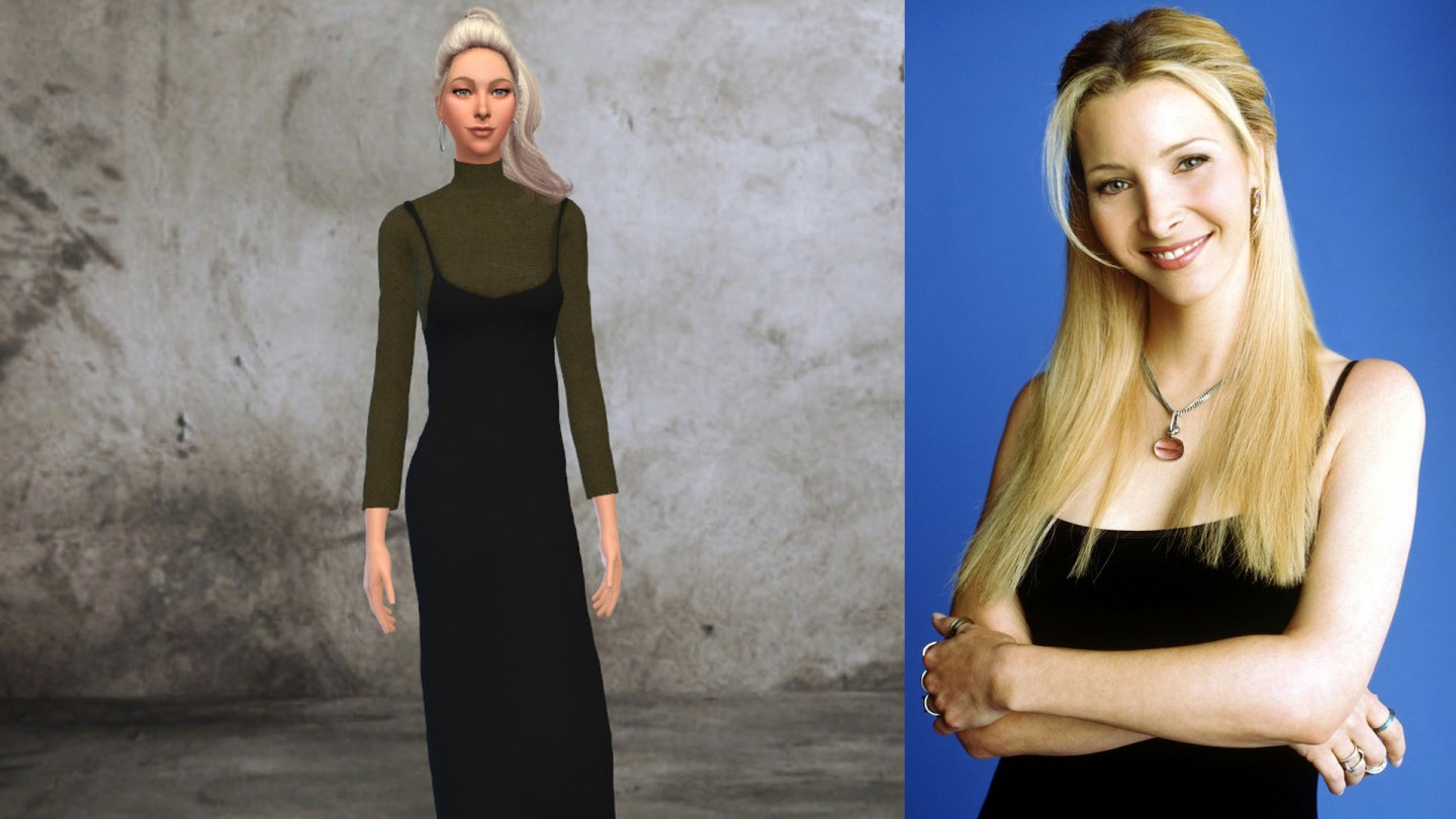friends phoebe buffay sims 4
