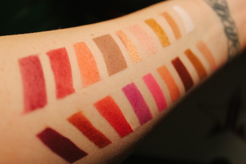 Jeffree Star Cosmetics Blood Sugar Swatch