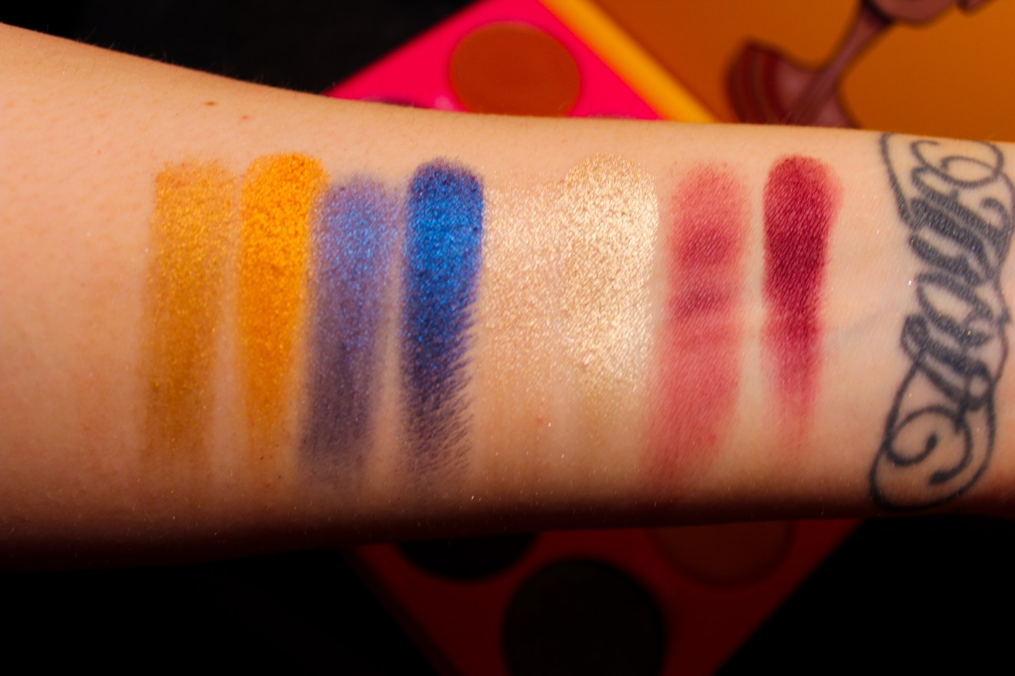 Juvia Place The Nubian 2 Swatch 2